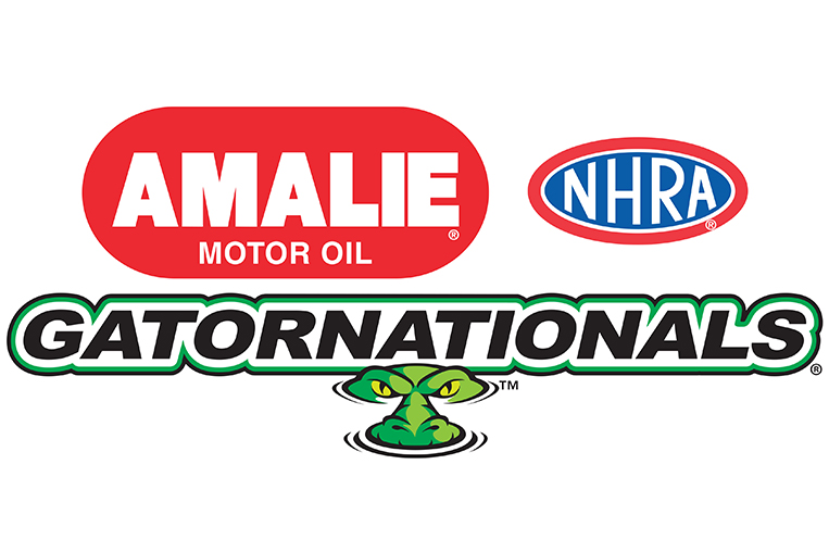 NHRA Amalie Motor Oil Gatornationals Logo